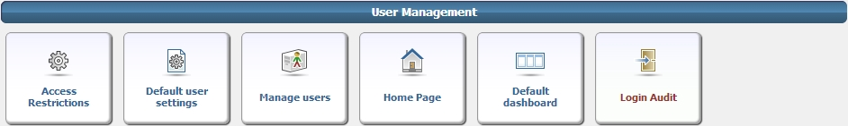 Admin User Management