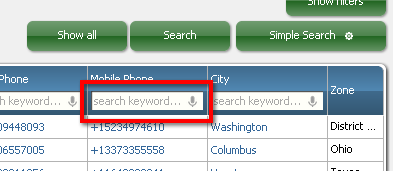 RB Advanced Search