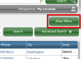 RB Show Filters